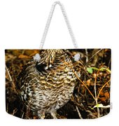 Blue Grouse Weekender Tote Bag