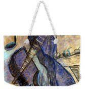 Blue Guitar - About Pablo Picasso Weekender Tote Bag