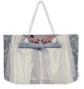 Blue Handbag Weekender Tote Bag