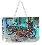 Blue Heaven Key West Bicycles Weekender Tote Bag