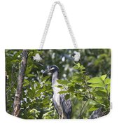 Blue Heron Profile Weekender Tote Bag