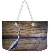 Blue Heron - Shallow Water Weekender Tote Bag