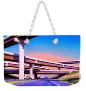 Blue Highway 7 Weekender Tote Bag