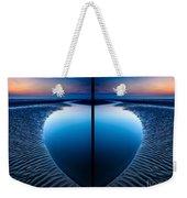Blue Hour Diptych Weekender Tote Bag