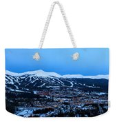 Blue Hour In Breckenridge Weekender Tote Bag
