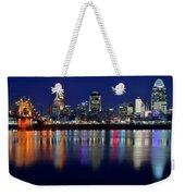 Blue Hour In Cincinnati Weekender Tote Bag