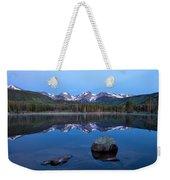 Blue Hour On Sprague Lake Weekender Tote Bag