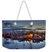 Blue Hour Weekender Tote Bag by Randy Hall