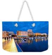 Blue Hour Zadar Waterfront View Weekender Tote Bag