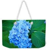 Blue Hydrangea Flower Art Prints Nature Floral Weekender Tote Bag