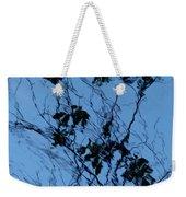 Blue Ink Weekender Tote Bag