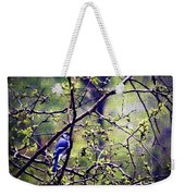 Blue Jay - Paint Effect Weekender Tote Bag