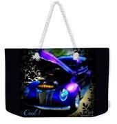 Blue Jewel Art Weekender Tote Bag