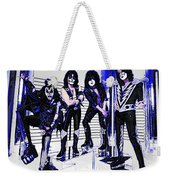 Blue Kiss Weekender Tote Bag
