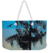 Blue Kite Sunset Weekender Tote Bag