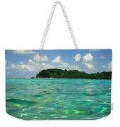 Blue Lagoon Weekender Tote Bag