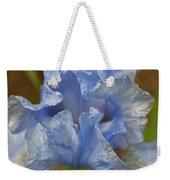 Blue Lilac Iris Weekender Tote Bag