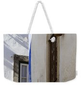 Blue Line To The Corner Weekender Tote Bag