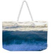 Blue Lines Weekender Tote Bag
