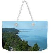 Blue Meets Blue Weekender Tote Bag