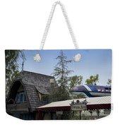 Blue Monorail Fairytale Arts Disneyland Weekender Tote Bag