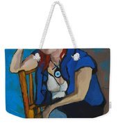 Blue Mood Weekender Tote Bag