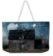 Blue Moon Rising Weekender Tote Bag