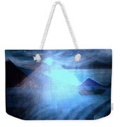 Blue Moon Sailing Weekender Tote Bag