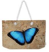 Blue Morpho #2 Weekender Tote Bag