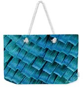 Blue Morpho Wing Scales Weekender Tote Bag