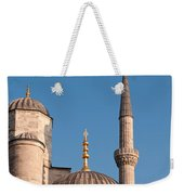 Blue Mosque 02 Weekender Tote Bag