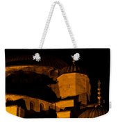 Blue Mosque At Night 02 Weekender Tote Bag