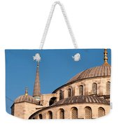 Blue Mosque Domes 07 Weekender Tote Bag