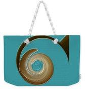 Blue Motion Weekender Tote Bag