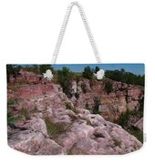 Blue Mounds Quarry Weekender Tote Bag by James Peterson