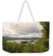 Blue Mountain Lake Weekender Tote Bag