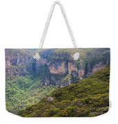 Blue Mountains Viewpoint Weekender Tote Bag