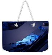 Mysterious Blue Weekender Tote Bag