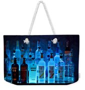 Blue Night Shadows Weekender Tote Bag