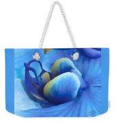 Blue Oasis Weekender Tote Bag