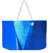 Blue On Blue Cropped Version Weekender Tote Bag