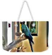 On The Perch Weekender Tote Bag
