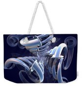 Blue Pipes Weekender Tote Bag