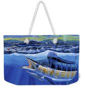 Blue Pitcher Off00115 Weekender Tote Bag by Carey Chen