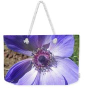 Blue Poppy Anemone Weekender Tote Bag