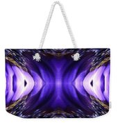 Blue Poppy Fish Abstract Weekender Tote Bag