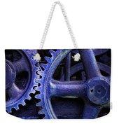 Blue Power Weekender Tote Bag