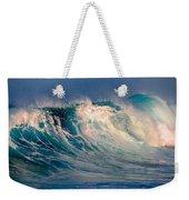 Blue Power. Indian Ocean Weekender Tote Bag