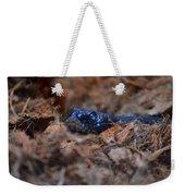 Blue Racer Snake Weekender Tote Bag