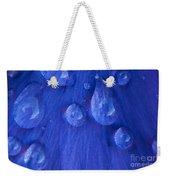 Blue Rain Weekender Tote Bag